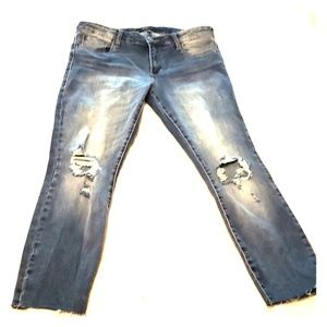 STS Blue Nordstrom Jean's Cassie Crop